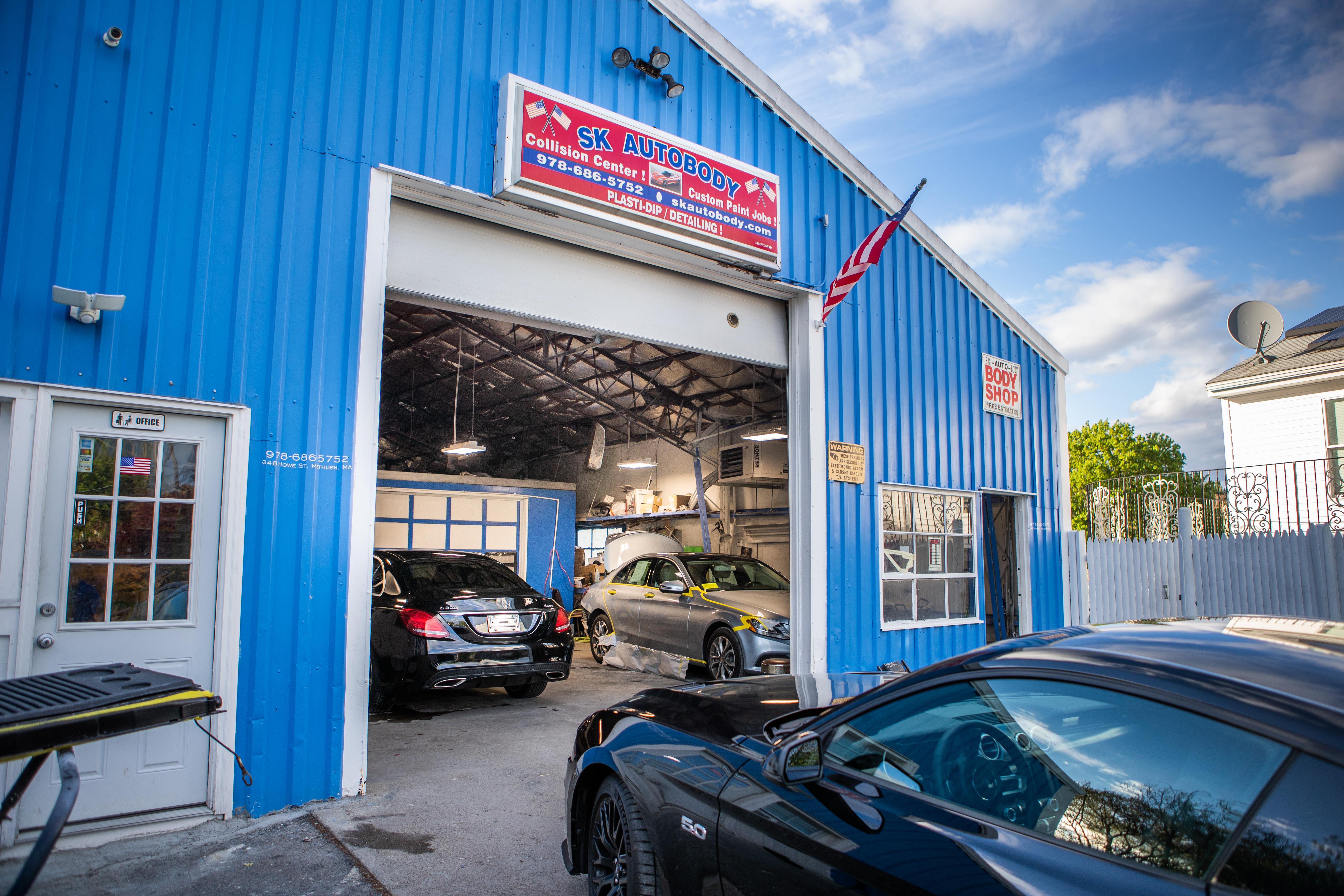 Sk Auto Body In Methuen Massachusetts
