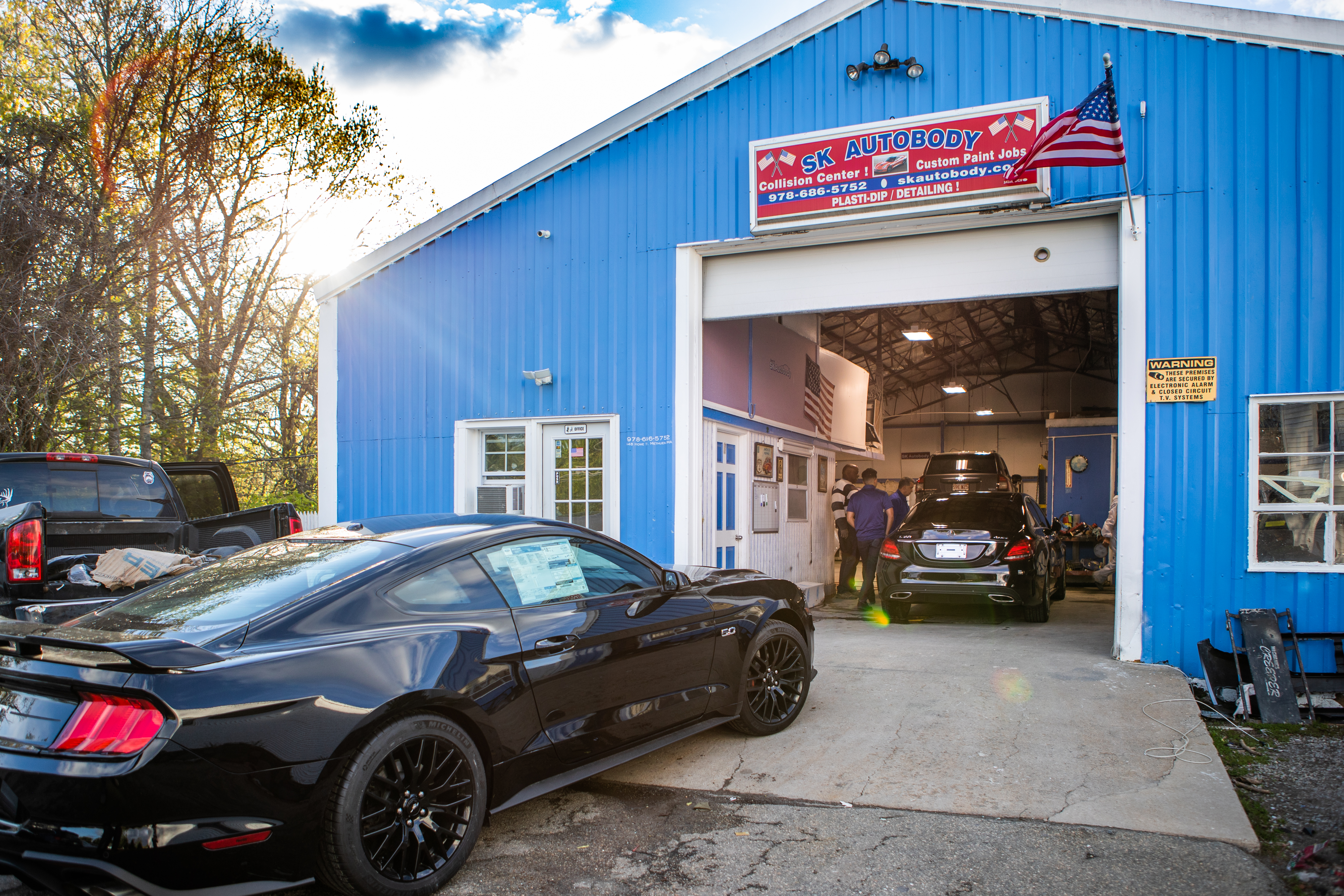 SK Auto Body Ford Mustang