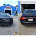 SK Auto Body Black Audi